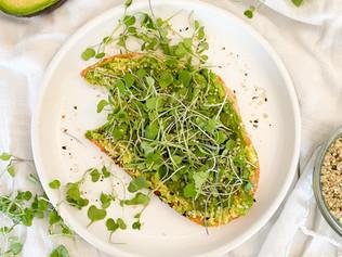 The Ultimate Green Avocado Toast