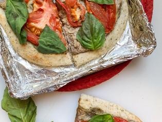 Toaster-Oven Artichoke Pizza
