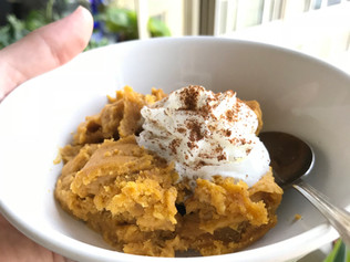 Fall Pumpkin Pudding Cake