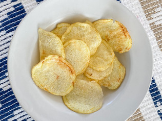 Homemade Chips in the Microwave