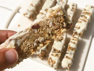 High Calorie Plant-Based Breakfast Bars