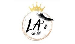 LA's World Logo