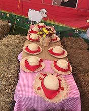 fiesta infantil de granja