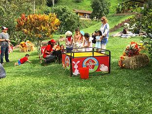 Fiestas para niños de La Granja