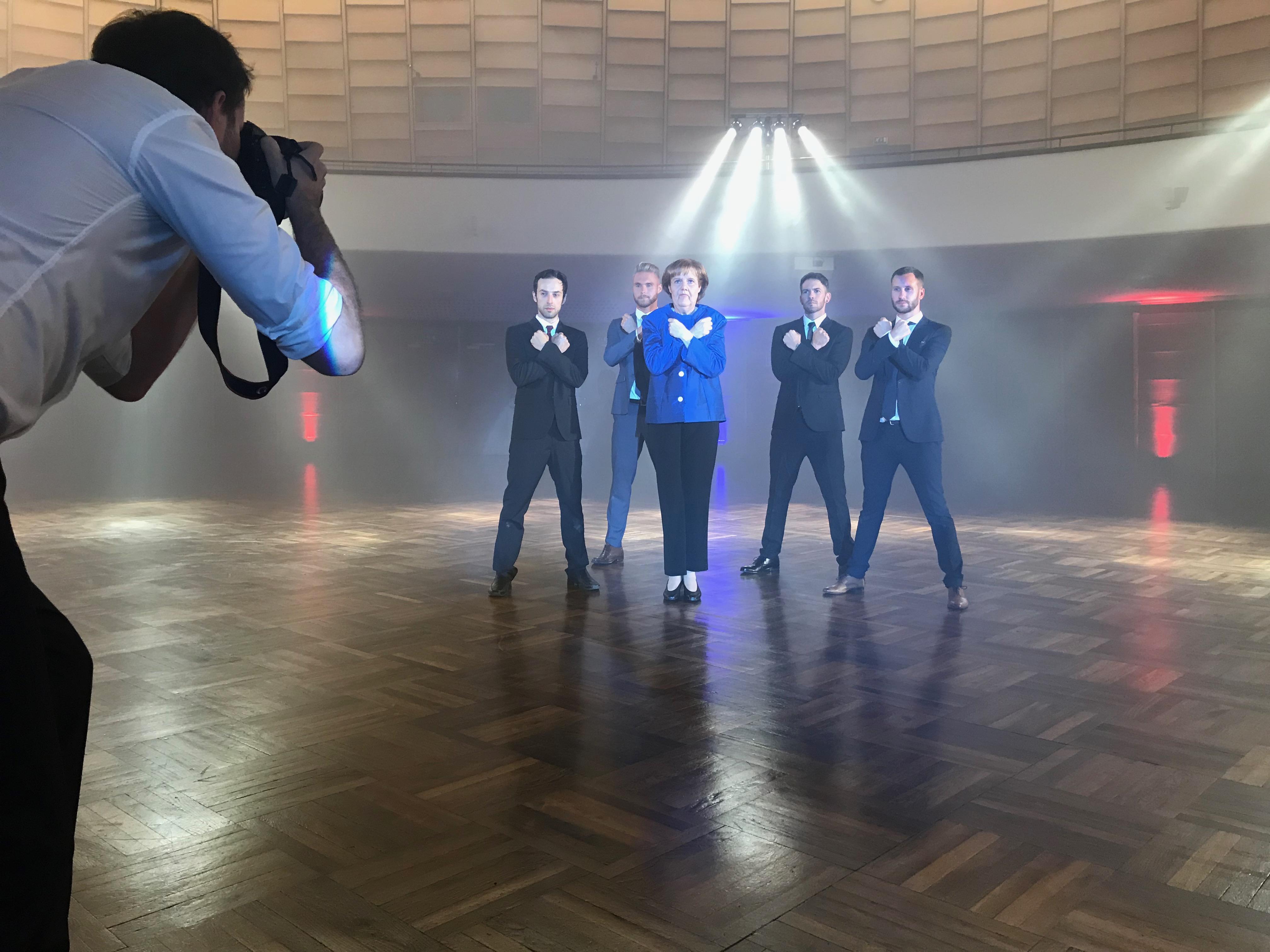 TV Choreografie, Profi Tänzer