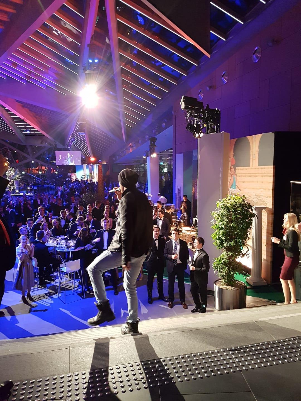 Flashmob, Agentur Musiker