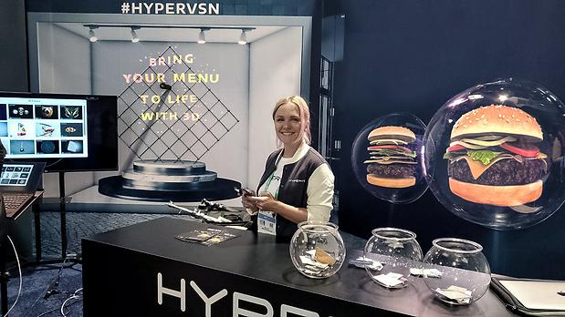 Hypervsn restaurant