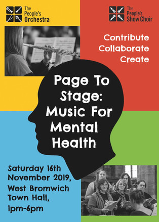 Page To Stage: Music For Mental Health