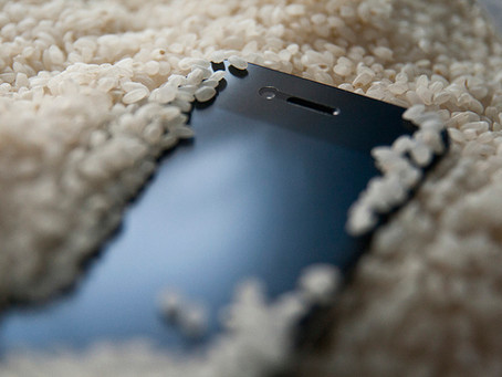 Water Damaged Phone? Don't Rely On Rice