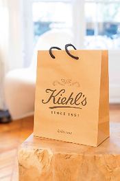 Sacs en papier recyclé pour Kiehl's