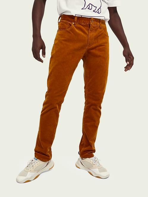 Pantalon velours côtelé slim fit Scotch&Soda