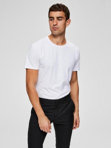 T-Shirt blanc Selected