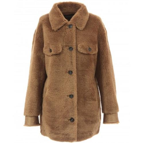 Veste effet peau lainée Oakwood