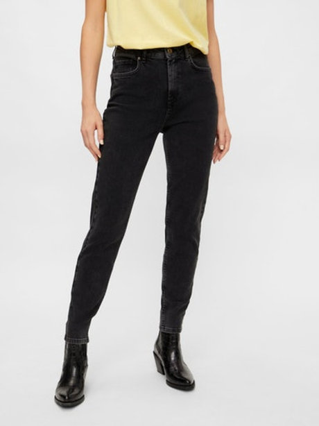 Jean Taille haute mom Pieces