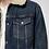 Thumbnail: Veste en jean Sherpa Nudie Jeans