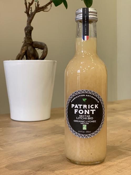 Nectar Litchi Bio Patrick font