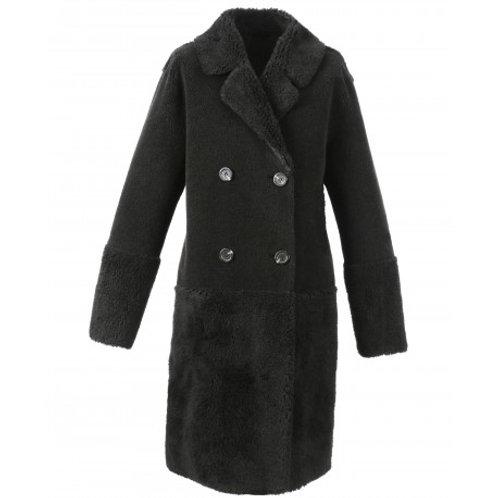 Manteau réversible effet mouton retourné Oakwood