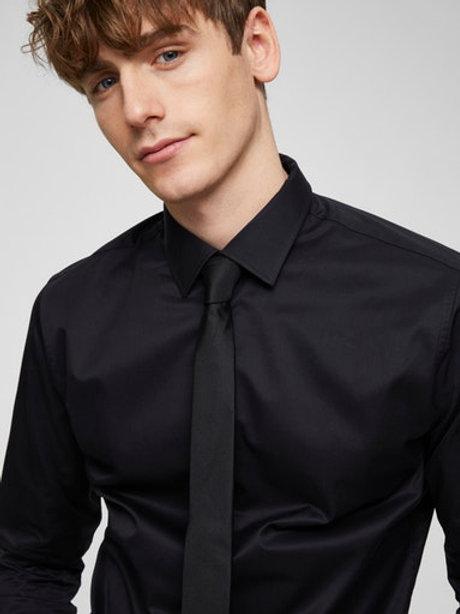 Cravate Noir Selected
