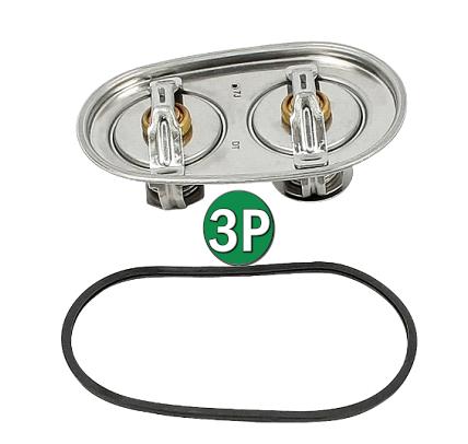 Valvula termostata 80/87c D9/D13/DC16/DC09/DC13 - 2475974 - 1545904 - 1935712