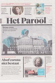 27-02-21 Corona houdt Amsterdam in haar greep