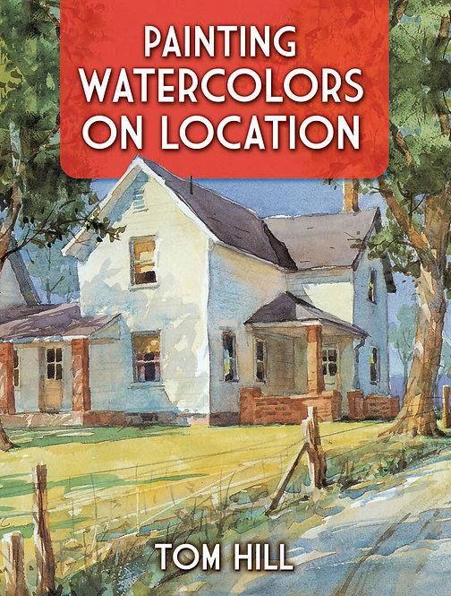 Painting Watercolors on location