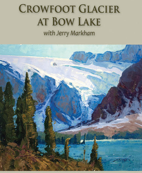 Crowfoot Glacier at Bow Lake • with Jerry Markham