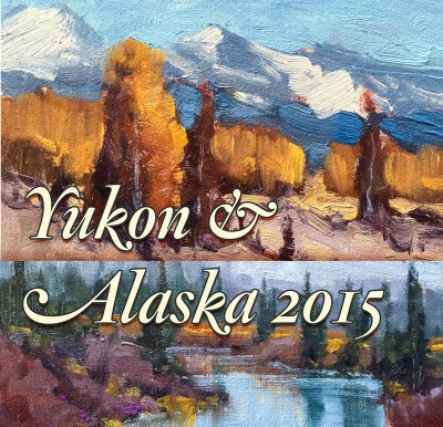 10 Things I learned about painting fall colours from my trip to Alaska