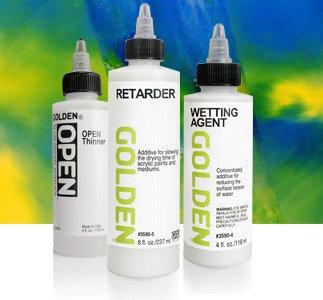 Retarder (Slow-Dry Medium, Golden)