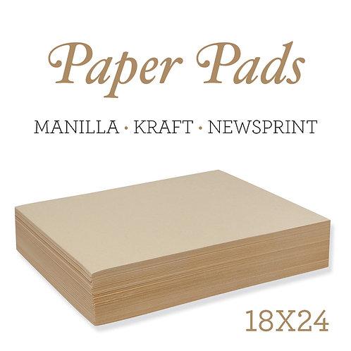 Paper Pads - Manila Drawing Paper