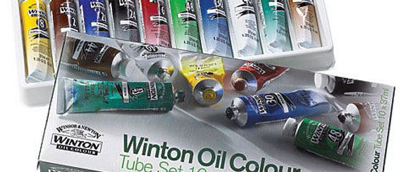 Winton Oil Sets (Student Grade)