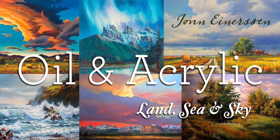 Land, Sea and Sky • Painting Workshop (Oil or Acrylic)