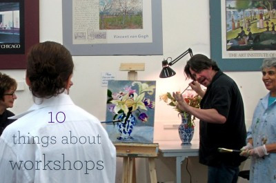 10 things to keep in mind when taking an art workshop