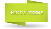 Kids and teens art classes - Banner