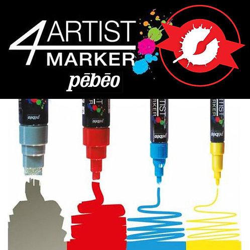 Pebeo - 4artist Marker 2mm (Oil Based Paint Marker)