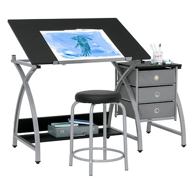2 Piece Comet Craft Center · Drafting Desk