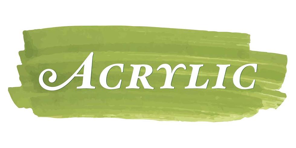Acrylic Painting Sampler - October 4