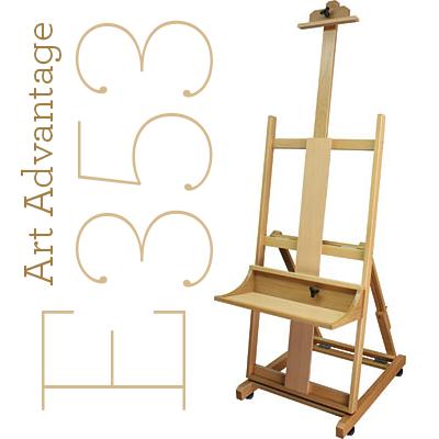 E353 • Art Advantage • The Masters Beech Studio Easel