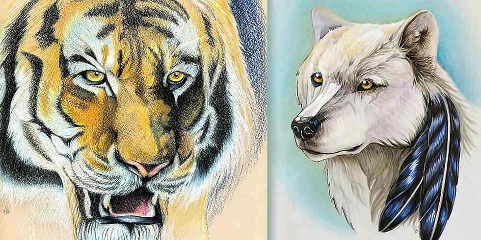 Teen Drawing Workshop Series - Animals