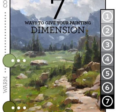 7 Ways To Give Your Painting Dimension