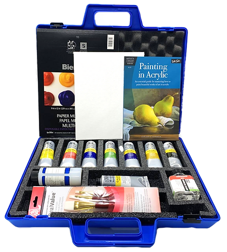 Deluxe Acrylic Painting Kit