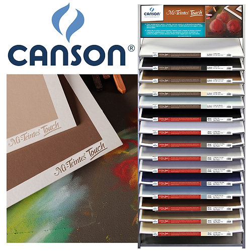 Canson Mi-Teintes Touch sanded texture board
