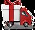 Gift Card shipping truck