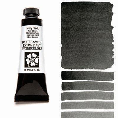 Blacks - Whites (Daniel Smith Watercolour)