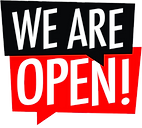 We Are Open PNG
