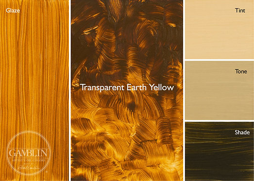 Gamblin Oils - Earth Tones