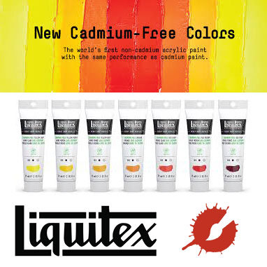 Liquitex Acrylic Paint (Cadmium-Free)