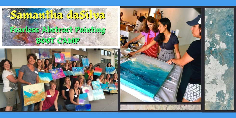 Fearless Abstract Painting Boot Camp