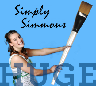 Simply Simmons Extra Large Brushes