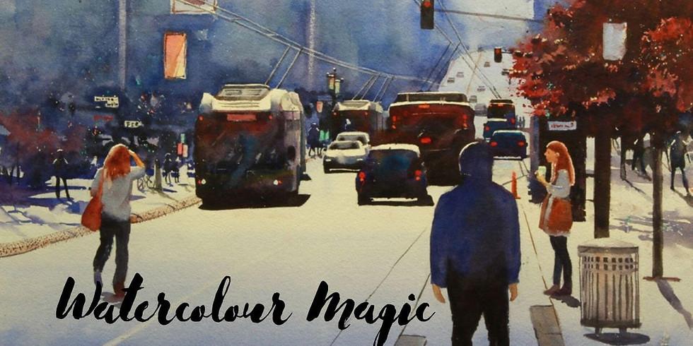 Watercolour Magic • Rex Beanland
