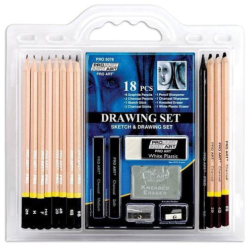 ProArt Drawing Set (18 Piece)